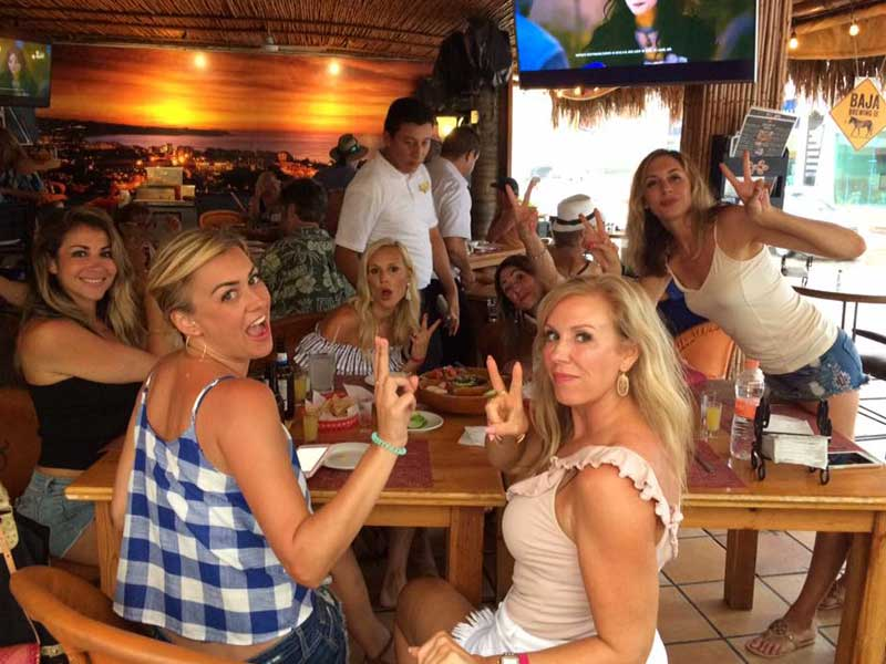 Guests enjoying food and drink at Cabo Cantina, Cabo San Lucas
